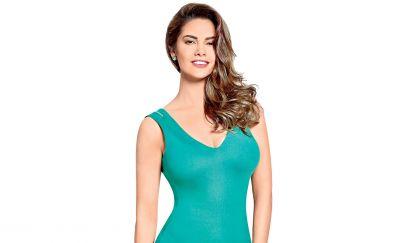 Esha gupta, green dress, bollywood, hot actress