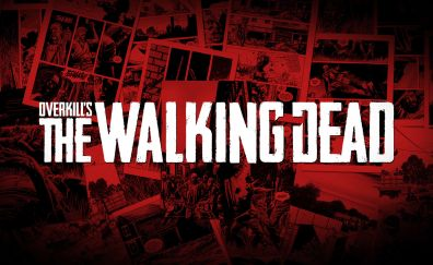 Overkill's The Walking Dead, video game, poster