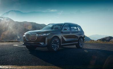 BMW Concept X7 iPerformance, car, 4k