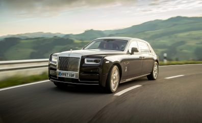 2017, Rolls-Royce Phantom EWB, luxury car, 4k