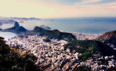 Rio de Janeiro, city, aerial view