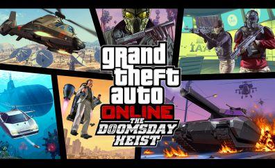 The doomsday heist, grand theft auto online, 4k