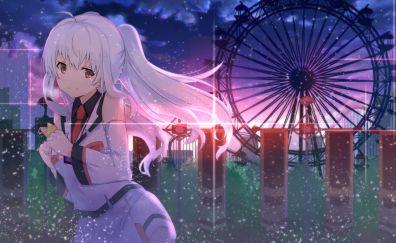 Isla, plastic memories, ferris wheel, anime girl