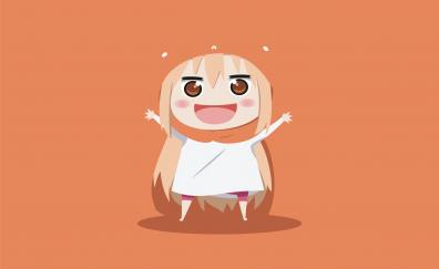 Umaru Doma, Himouto! Umaru-chan, minimal, anime