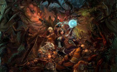 Diablo III: Reaper of Souls, wizards, game