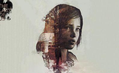 The last of us, video game, kids' face, digital art