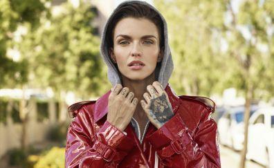 Ruby rose, model, actress, self magazine, 2017, 5k