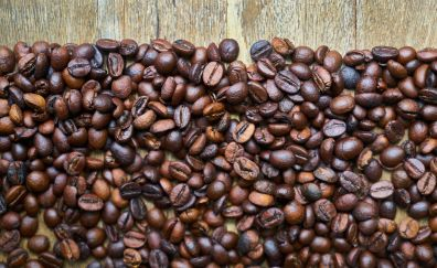 Beans, coffee beans, seeds