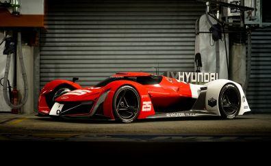 Hyundai N 2025 Vision Gran Turismo, Formula One car, 4k