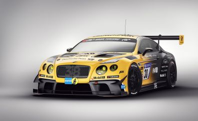 Bentley Continental GT, sports, race car
