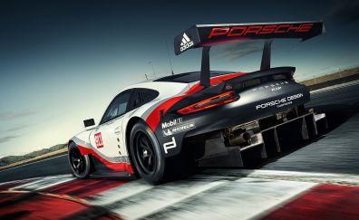 2017 Porsche 911 RSR sports car