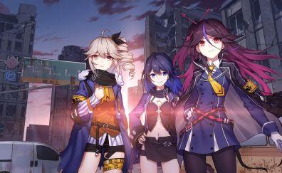 Benghuai Xueyuan, anime girls