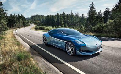 Borgward Isabella Concept, 2017 car, Frankfurt, motor show, 4k