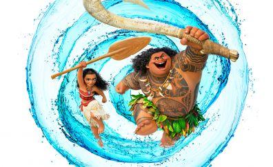 Moana animation Disney movie
