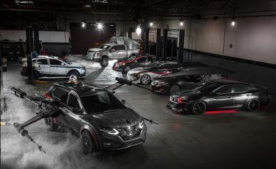 Star wars, nissan cars, 4k