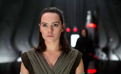 Rey, Daisy Ridley, Star Wars: The Last Jedi, 2017