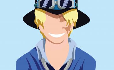 Sabo, One Piece, anime boy