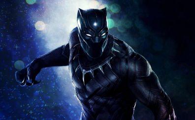 Black panther, superhero, art, 8k