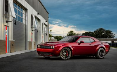 2018 car, Dodge Challenger SRT, hellcat