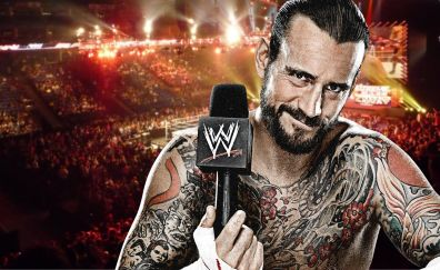 CM Punk, American wrestler, tattoo