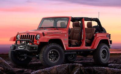 2017 Jeep Wrangler, Red rock, concept car