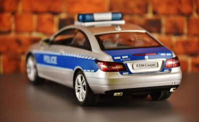 Police Car, Mercedes Benz model car