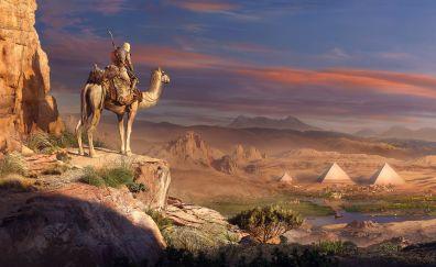 Pyramids, Assassin's Creed Origins, 2017 game
