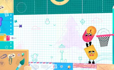 Snipperclips video game, 2017 game