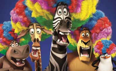 Madagascar 3: Europe's Most Wanted, animation