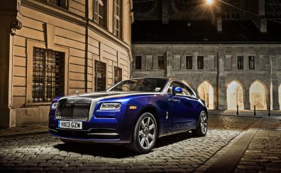 Rolls-Royce Wraith luxury car, front view
