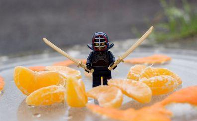 Lego, ninja, slices