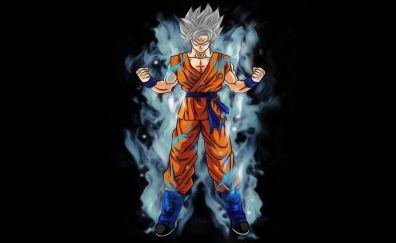 Goku, art, dragon ball super