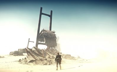 Mad max, desert, video game