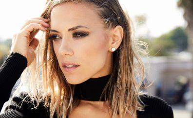 Jana kramer, celebrity, face, 8k