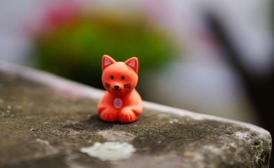 Red fox, small, toy, cute