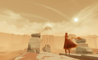 The journey, video game, girl