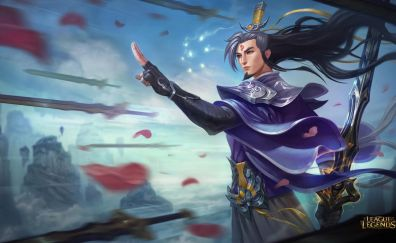 Warrior, Master Yi, League of Legends, online game