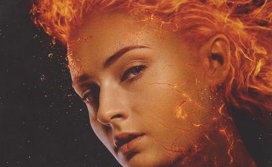 X-Men: Dark Phoenix, Sophie turner, movie, 2018