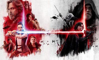 Poster, star wars: the last jedi, movie