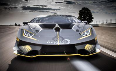 Lamborghini Huracan Super Trofeo EVO, car, 4k