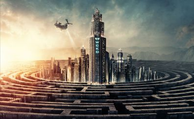 Maze Runner: The Death Cure, 2018 movie, poster, 4k