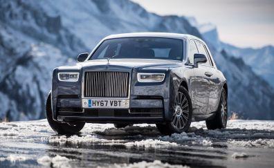 Rolls-Royce Phantom, Blue, UK, 2017