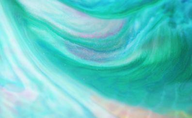Stream glitter, green, abstract