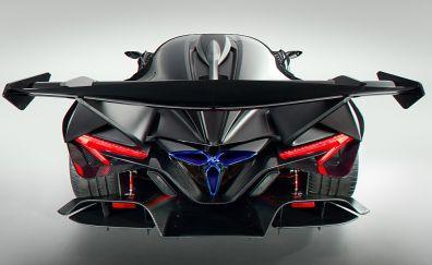 Apollo IE, super car, rear