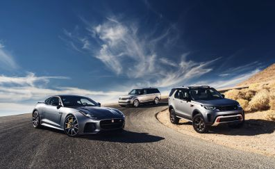 Jaguar, land rover, range rover, cars, 4k