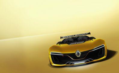 Renault Sport Spider, sports car, front, 4k