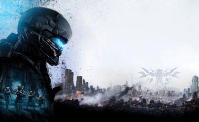 Locke, Halo 5: guardians, video game, 5k
