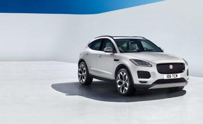 Jaguar E-Pace, 2018 car, 4k