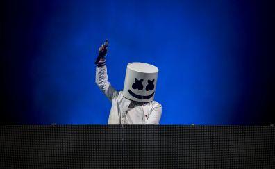Marshmello, DJ, music, 5k