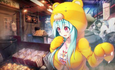 Market, tokyo necro, video game, game, anime girl